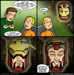 THIS IS WHY MY WIFE SAYS IRON MAN IS GAY