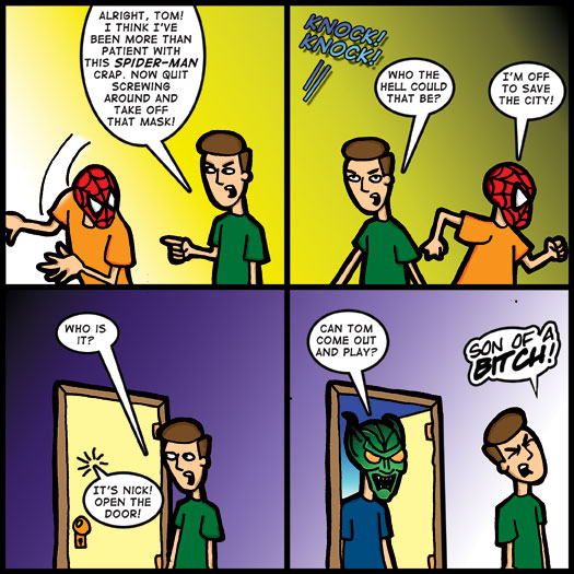 Spider-Man, costume, pretend, mask, Green Goblin, dress up