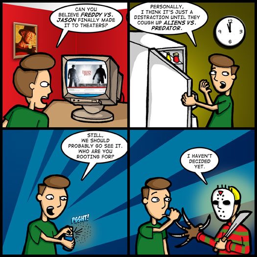 Freddy vs. Jason, Aliens vs. Predator, undecided