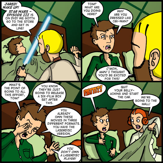 Star Wars - Episode III: Revenge of the Sith, DVD, hurry, sleep, debate, Patti