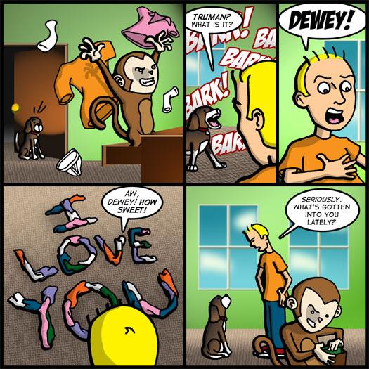 Truman, Dewey, conflict, clothes, wallet, stealing, disbelief