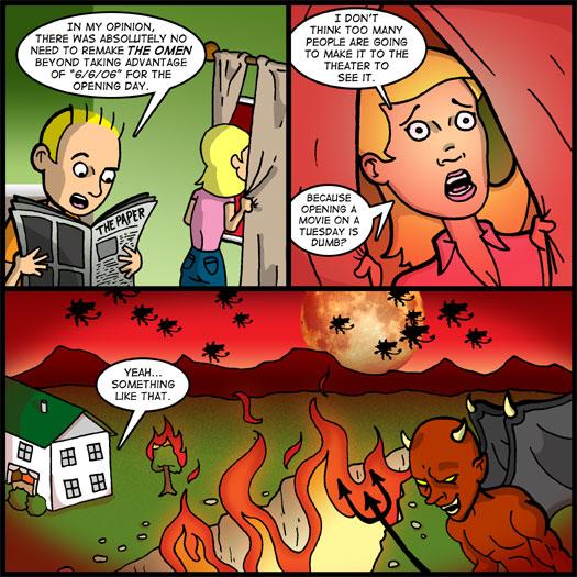 The Omen, remake, apocalypse