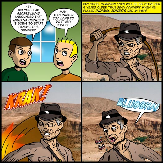 INDIANA JONES AND THE LOST POLIGRIP