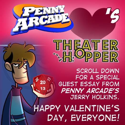 Penny Arcade, Jerry Holkins, fatherhood, essay, guest, Tycho, Valentine's Day