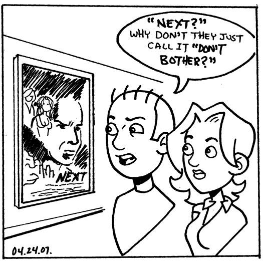 Next, Nicholas Cage, sketch