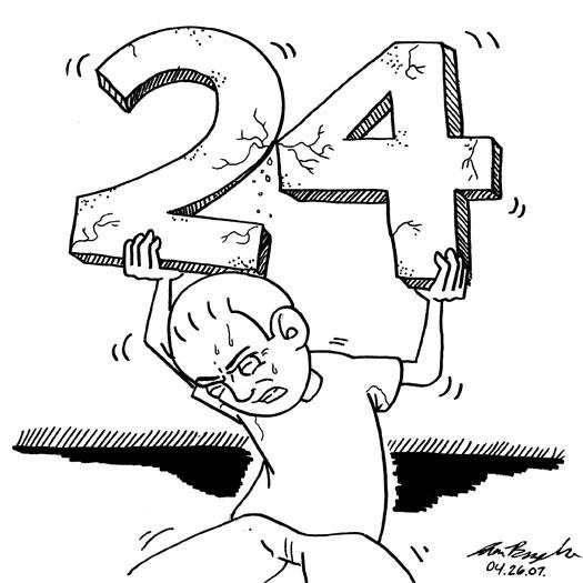 24 Hour Comic Challenge, sketch, story, Mayhem Comics, Ames