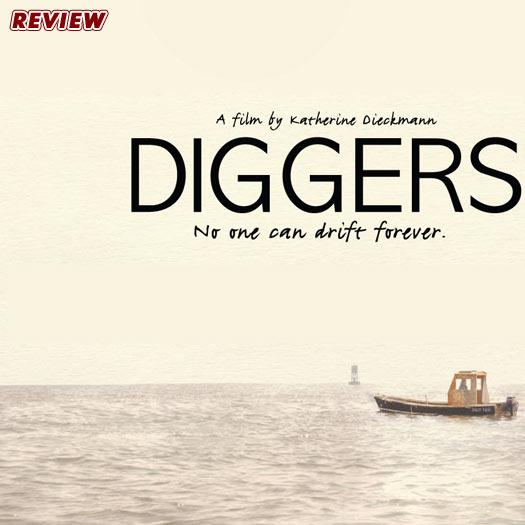 Diggers, movie review, Paul Rudd, Ron Eldard, Maura Tierney, Ken Marino