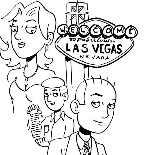 sketch, Ocean's 13, Las Vegas