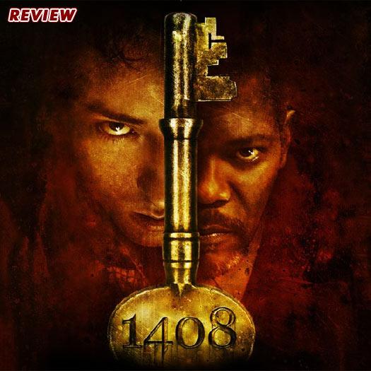 1408, Stephen King, DVD, review, John Cusack, Samuel L. Jackson, horror
