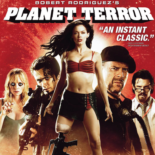 Robert Rodriguez, Planet Terror, DVD, review, Rose McGowan, Josh Brolin, Marley Shelton, Grindhouse