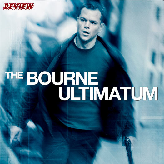 DVD REVIEW – THE BOURNE ULTIMATUM