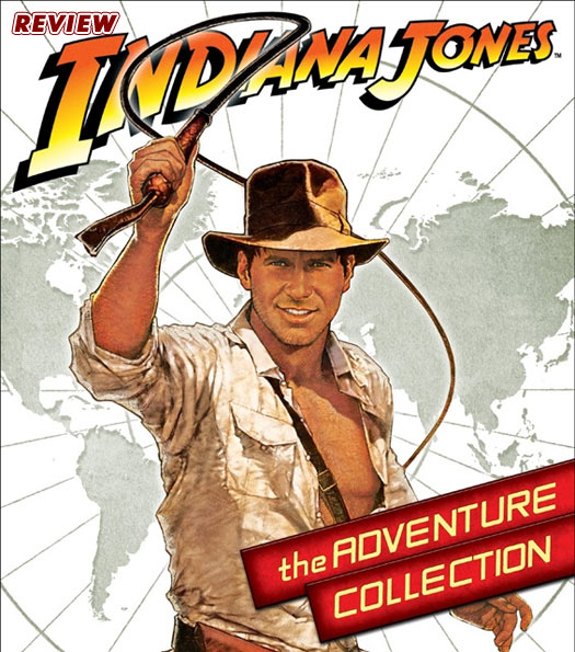 DVD REVIEW – INDIANA JONES: THE ADVENTURE COLLECTION