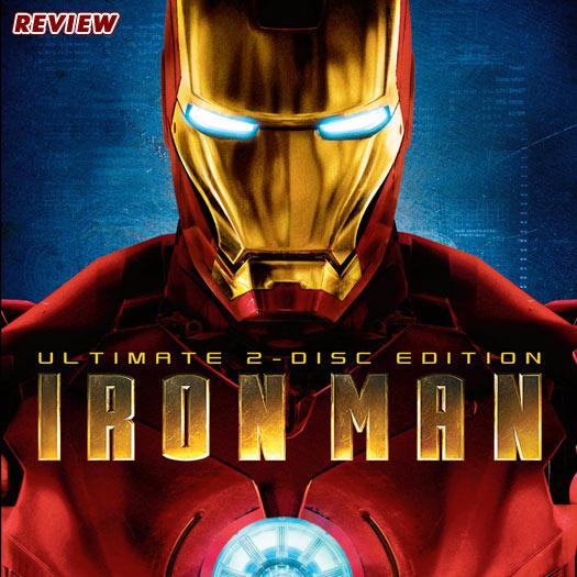 DVD, review, Iron Man, Robert Downey Jr., Jon Favreau, Terrance Howard, Gweneth Paltrow