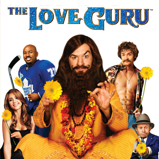 DVD, review, The Love Guru, Mike Myers, Jessica Alba, Justin Timberlake