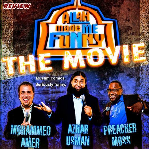 DVD, review Allah Made Me Funny, Mohammed Amer, Azhar Usman, Preacher Moss, Muslim, Islam, comedy