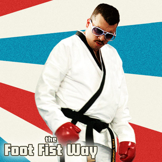 DVD, review, The Foot Fist Way, Daniel McBride, tae kwon do