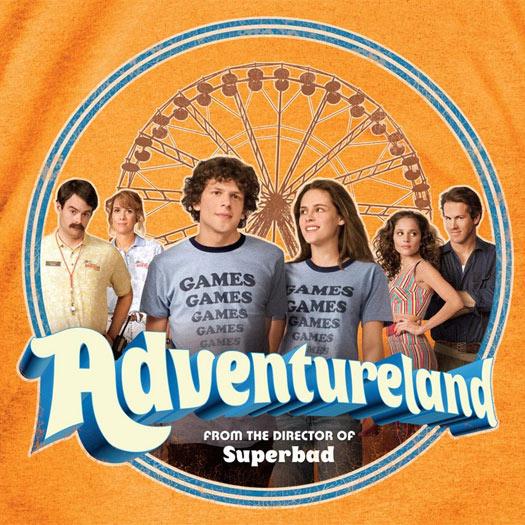 Adventureland, Greg Mottola, Jesse Eisenberg, Kristen Stewart, Ryan Reynolds, Martin Starr, Bill Hader, Kristen Wiig, Blu-ray, DVD, review