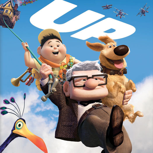 Up, Pixar, Ed Asner, Blu-ray, review, Christopher Plummer