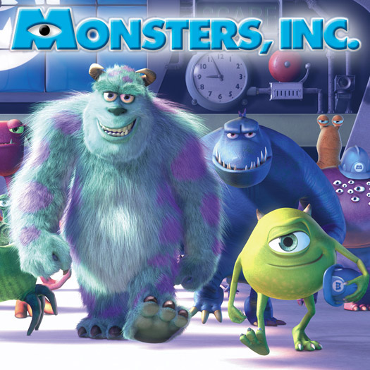 DVD, review, Blu-ray, Disney, Pixar, Monsters Inc., John Goodman, Billy Crystal, Jennifer Tilly, Steve Buscemi, Frank Oz, James Coburn