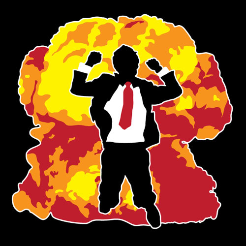 EXPLOSION! t-shirt mock up