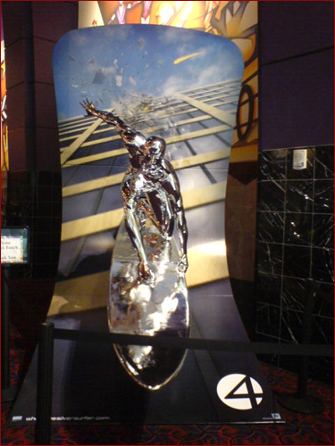 Fantastic Four: Rise of the Silver Surfer display