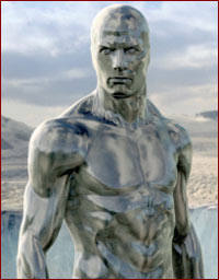 The Silver Surfer - Doug Jones, Laurence Fishburne