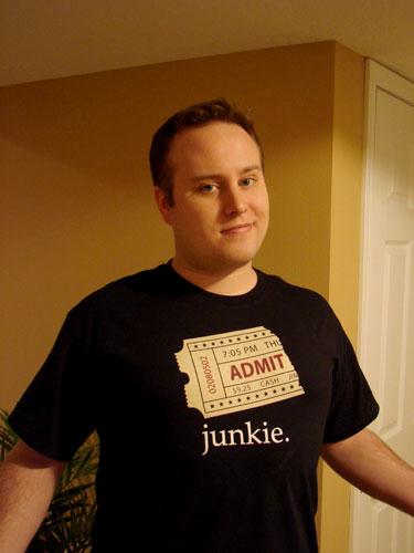 Junkie shirt