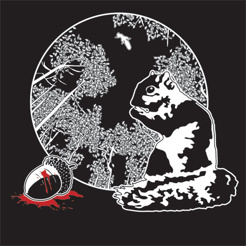 Squirrels Are Nature's Ninjas - Threadless.com