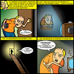 THE MOVIE GEEK UNDER THE STAIRS